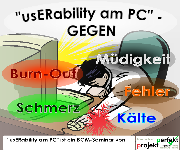 Grafik: usERability am PC